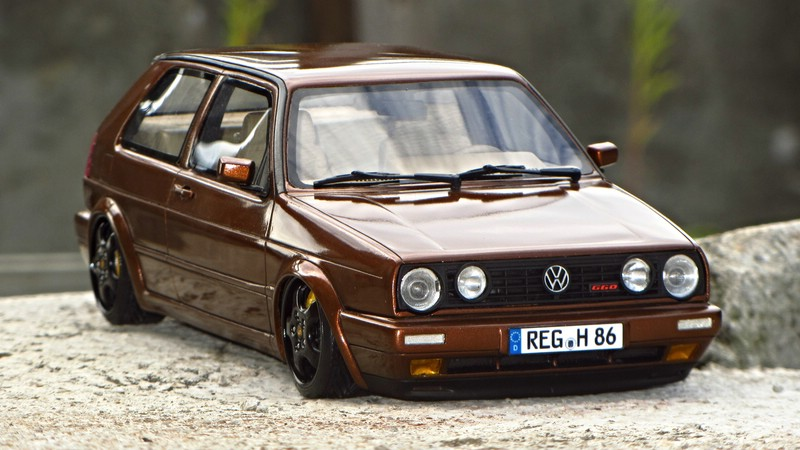 1 18 vw golf ii g60 ipanemabraun modelcarforum. Black Bedroom Furniture Sets. Home Design Ideas