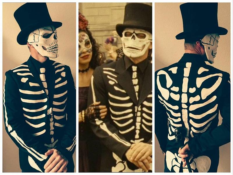 Spectre day of the dead costume page 1 james bond memorabilia collecting clothing - James bond costume ...