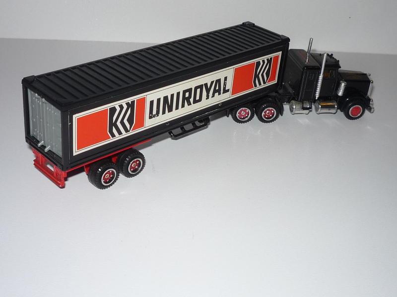 N°604 Kenworth + semi remorque container  ( version lisse ) 27351597bt