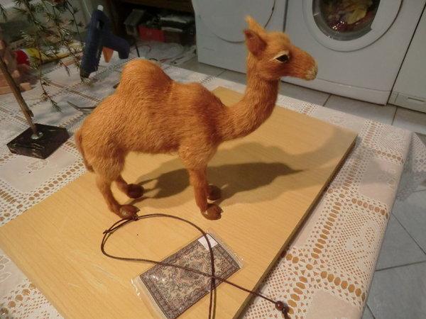 basteln mit kindern kamel