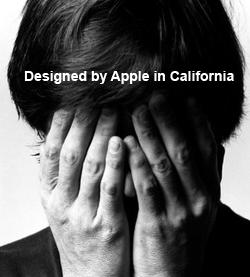 designed in apple california