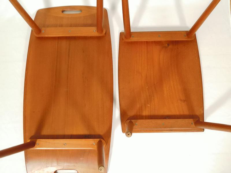 Sch ne satztische beistelltisch von quistgaard d nisch for Tisch japanisches design