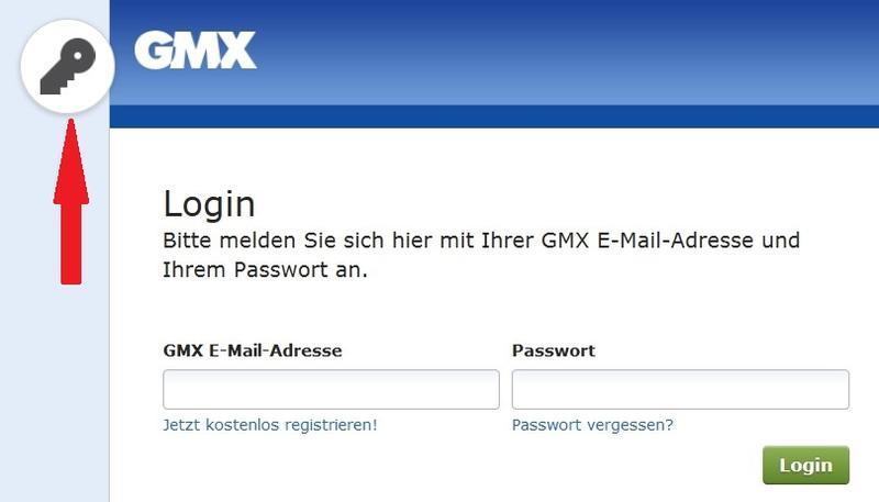 gmx login geht nicht