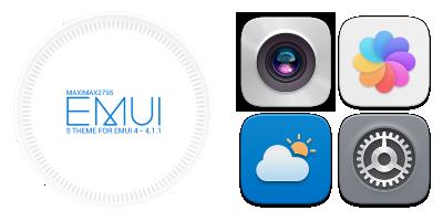 Theme Emui 5 Theme For Emui 4 0 4 1 1 U Huawei P9