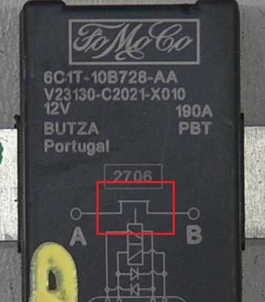 Ford Transit Forum     View topic  MK7 twin battery relay