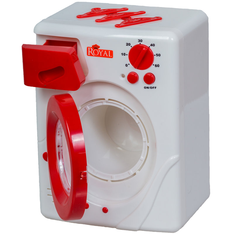 kinder waschmaschine mit drehender trommel licht und sound. Black Bedroom Furniture Sets. Home Design Ideas