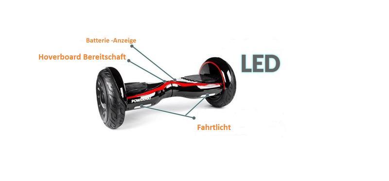 hoverboard e balance 10 scooter elektroroller smart wheel. Black Bedroom Furniture Sets. Home Design Ideas