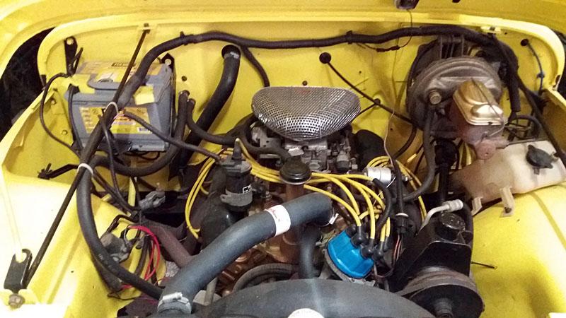 Restauration et prépa CJ7 V-8 AMC 360 Golden Eagle 27711669ju