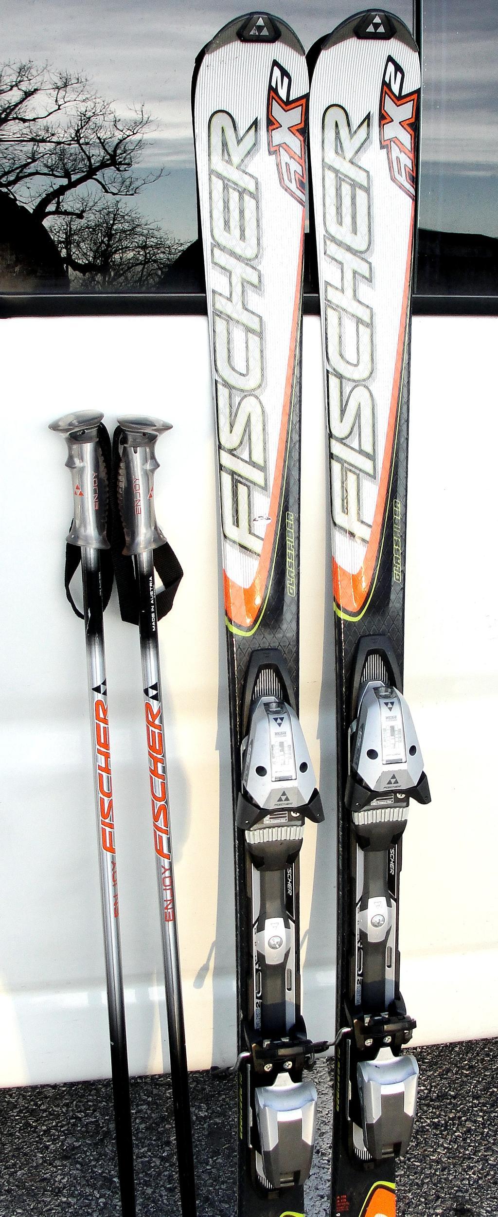 Carving ski fischer rx cm inkl skistöcke bindung