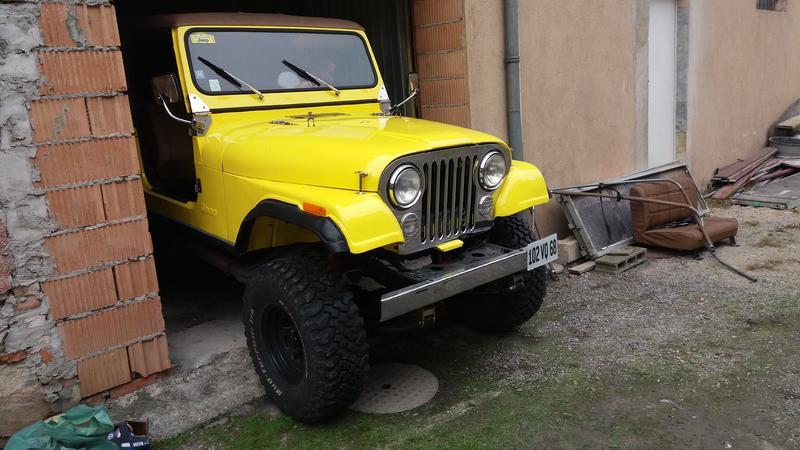 Restauration et prépa CJ7 V-8 AMC 360 Golden Eagle 27711879zz