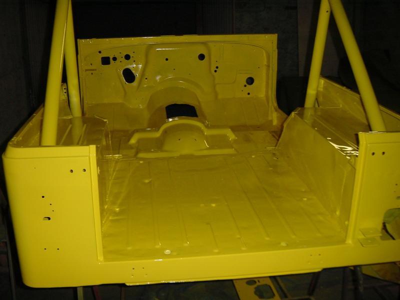 Restauration et prépa CJ7 V-8 AMC 360 Golden Eagle 27720804cs