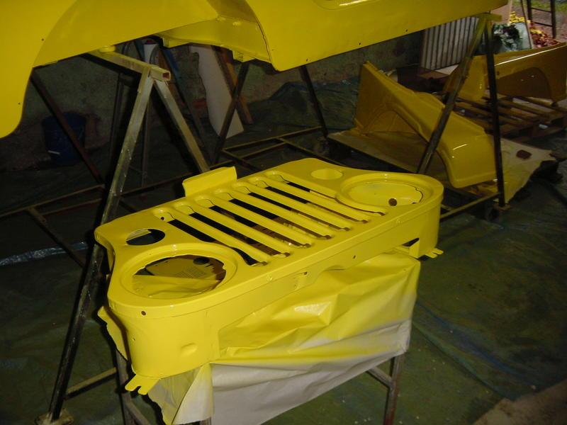 Restauration et prépa CJ7 V-8 AMC 360 Golden Eagle 27720805bp