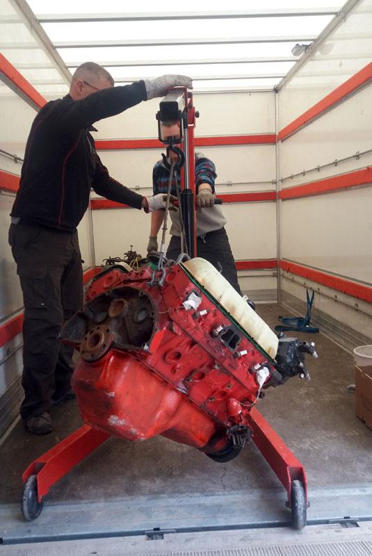 Restauration et prépa CJ7 V-8 AMC 360 Golden Eagle 27723957kp