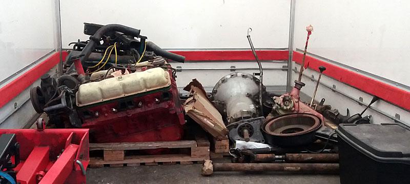 Restauration et prépa CJ7 V-8 AMC 360 Golden Eagle 27723959je