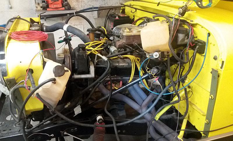 Restauration et prépa CJ7 V-8 AMC 360 Golden Eagle 27727664dv