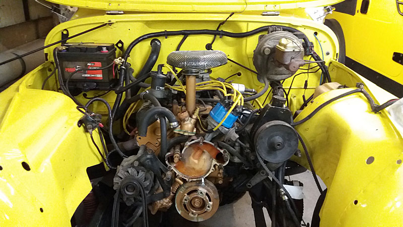 Restauration et prépa CJ7 V-8 AMC 360 Golden Eagle 27727667cq