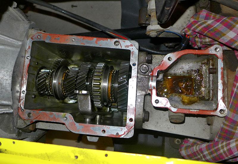 Restauration et prépa CJ7 V-8 AMC 360 Golden Eagle 27730369nb