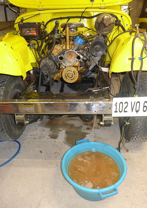 Restauration et prépa CJ7 V-8 AMC 360 Golden Eagle 27750663bu