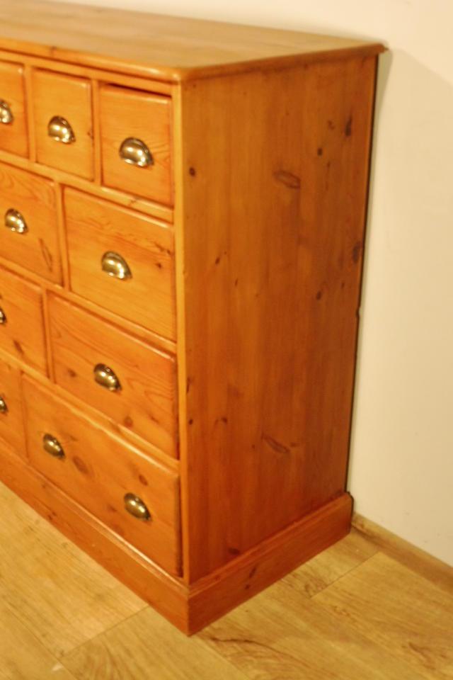 apothekerschrank kommode anrichte schrank buffet in. Black Bedroom Furniture Sets. Home Design Ideas