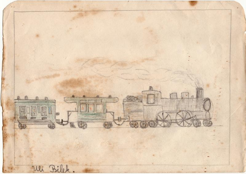 Aufziehbahn von Beckh in Spur 0, Lokomotive mit Kunststoffrädern 27837643al