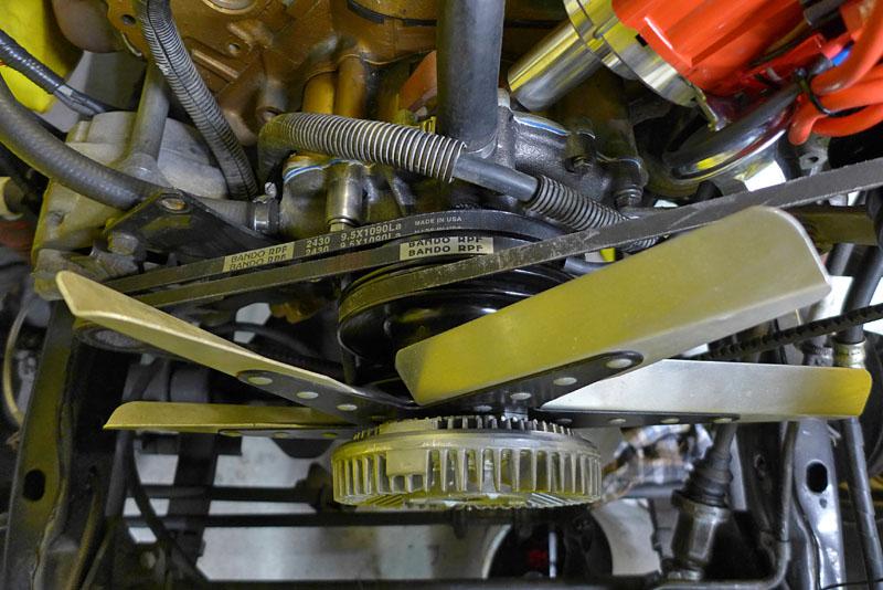 Restauration et prépa CJ7 V-8 AMC 360 Golden Eagle 27873507dg