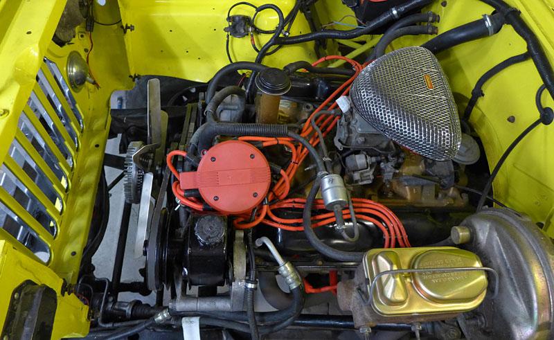 Restauration et prépa CJ7 V-8 AMC 360 Golden Eagle 27873509te