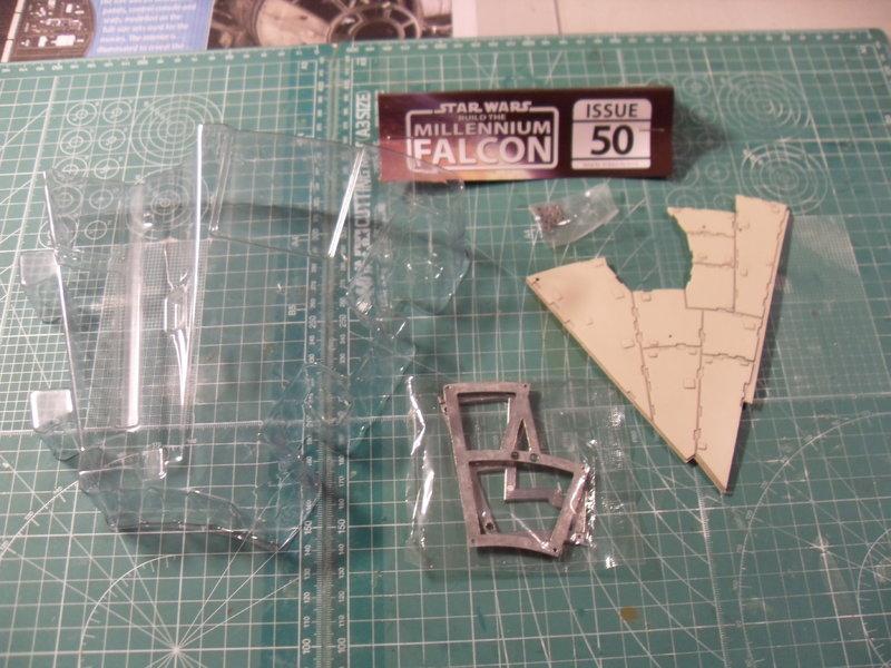 Offizielle Bautagebuch Millenium Falcon Lieferung 50,51,52,53 - Das ...