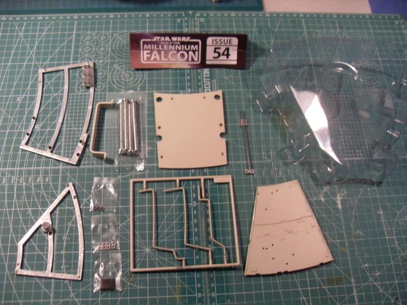 Offizielle Bautagebuch Millenium Falcon Lieferung 54,55,56,57 - Das ...