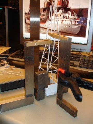 Baustufenbilder eines Hafenkran in H0 27929375og