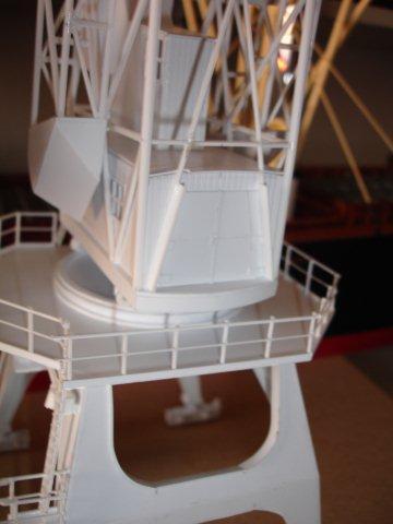 Baustufenbilder eines Hafenkran in H0 27934792wg