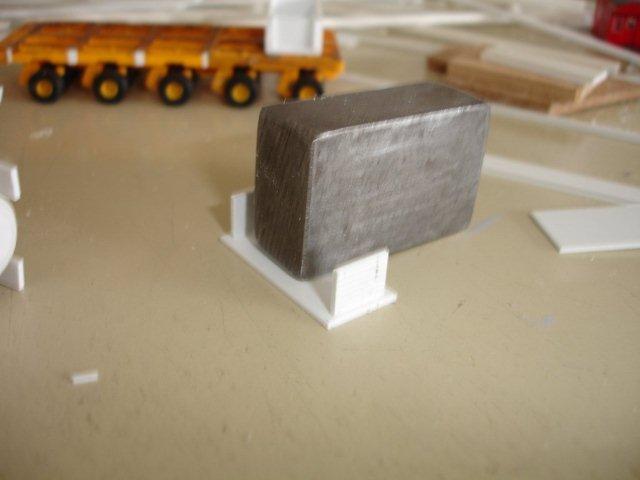 Baustufenbilder eines Hafenkran in H0 27934935pq