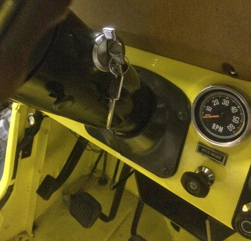 Restauration et prépa CJ7 V-8 AMC 360 Golden Eagle 27935796oy