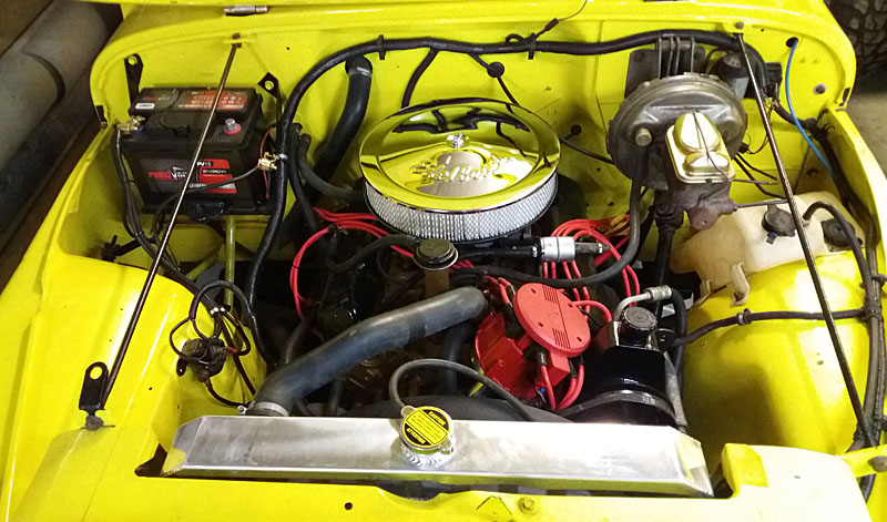 Restauration et prépa CJ7 V-8 AMC 360 Golden Eagle 27963498na