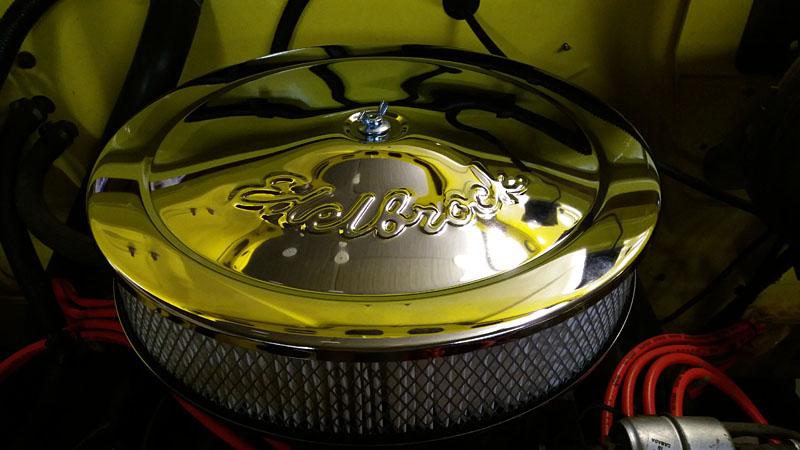 Restauration et prépa CJ7 V-8 AMC 360 Golden Eagle 27963500sv