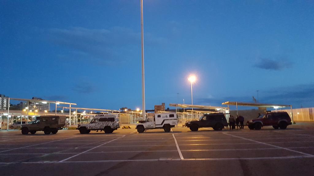 parkplatz wächter elektrisch