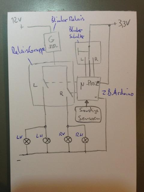 690 Duke 4: Winterprojekt: Optimierung Blinkersteuerung - 690 LC4 ...