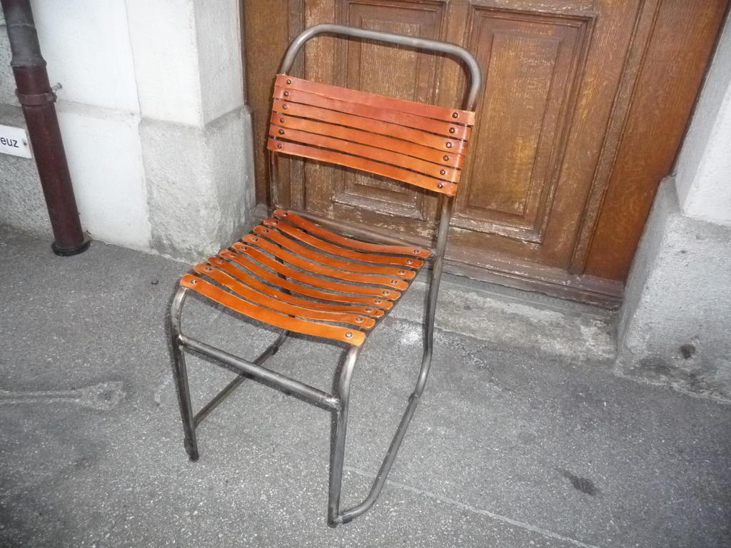 Stuhl stahlrohr unikat industrie in aarau kaufen bei for Stuhl stahlrohr