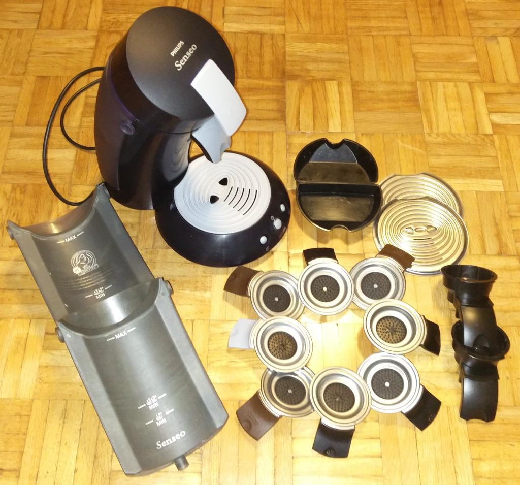 philips senseo hd 7810 kaffeepadmaschine kaffeemaschine zubeh r dunkelblau ebay. Black Bedroom Furniture Sets. Home Design Ideas