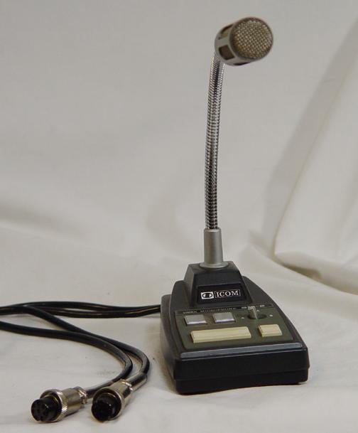 Icom SM-8 Mikrofon, 2 Anschlusskabel