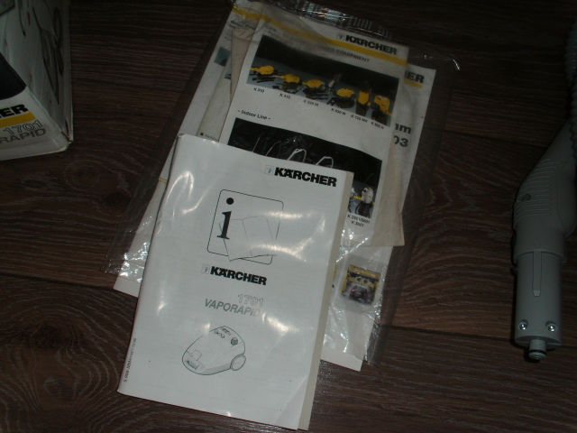 k rcher kaercher dampfreiniger vaporapid 1701 neuwertig ebay. Black Bedroom Furniture Sets. Home Design Ideas