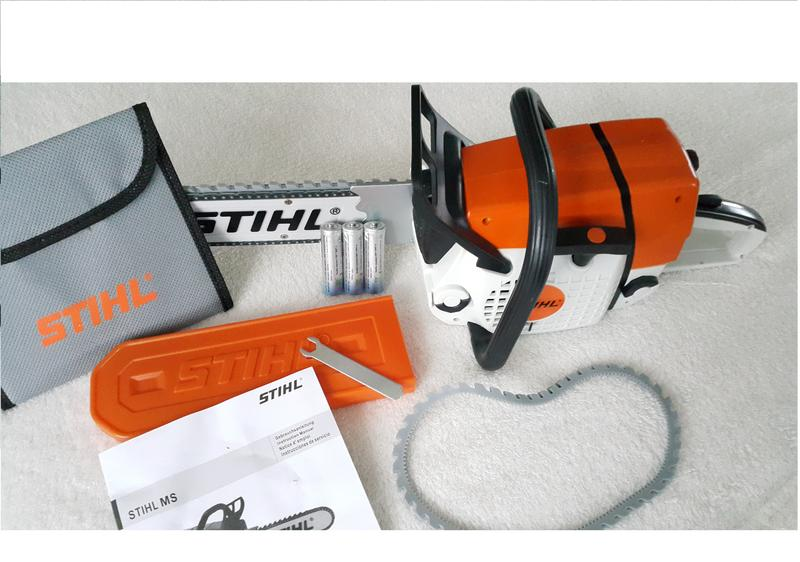 stihl kinder spielzeugsense freischneider batterie led kind spielzeug fs 90 260 ebay. Black Bedroom Furniture Sets. Home Design Ideas