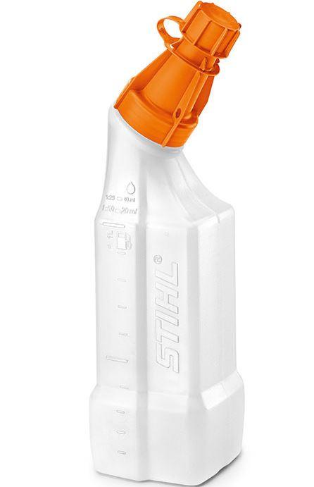 stihl mischflasche 1 liter gemisch flasche 2 takt misch l hp super stihl ebay. Black Bedroom Furniture Sets. Home Design Ideas