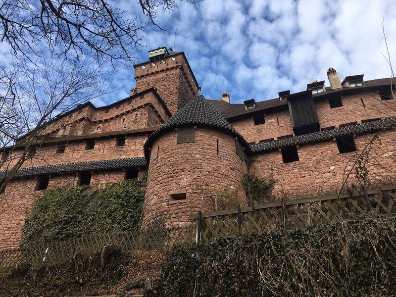 Ein kleiner Vorgeschmack auf Château du Haut-Kœnigsbourg/Elsaß 28462773be