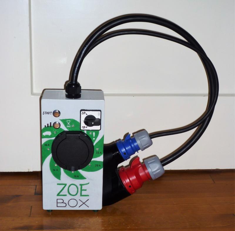Selbstgebaute mobile Typ2-Ladebox 22kW mit Arduino - Ladeequipment ...