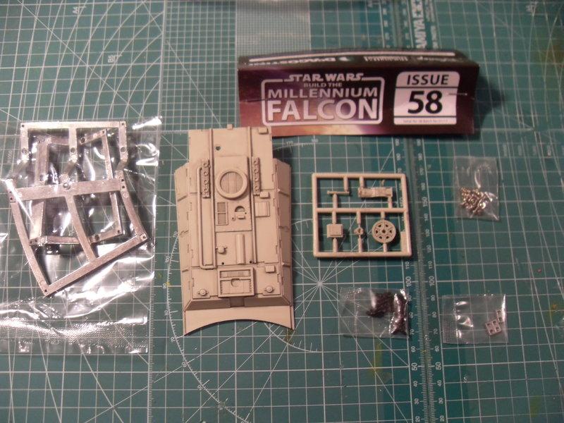 Offizielle Bautagebuch Millenium Falcon Lieferung 58,59,60,61 - Das ...