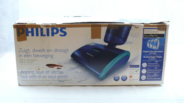 philips aquatrio pro fc7080 01 nass trockensauger blau ebay. Black Bedroom Furniture Sets. Home Design Ideas