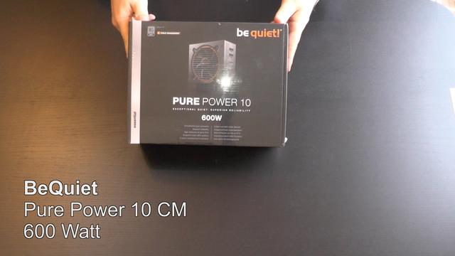 28549199pn - be quiet! PURE POWER 10 | 500W + 600W CM Testers Keepers
