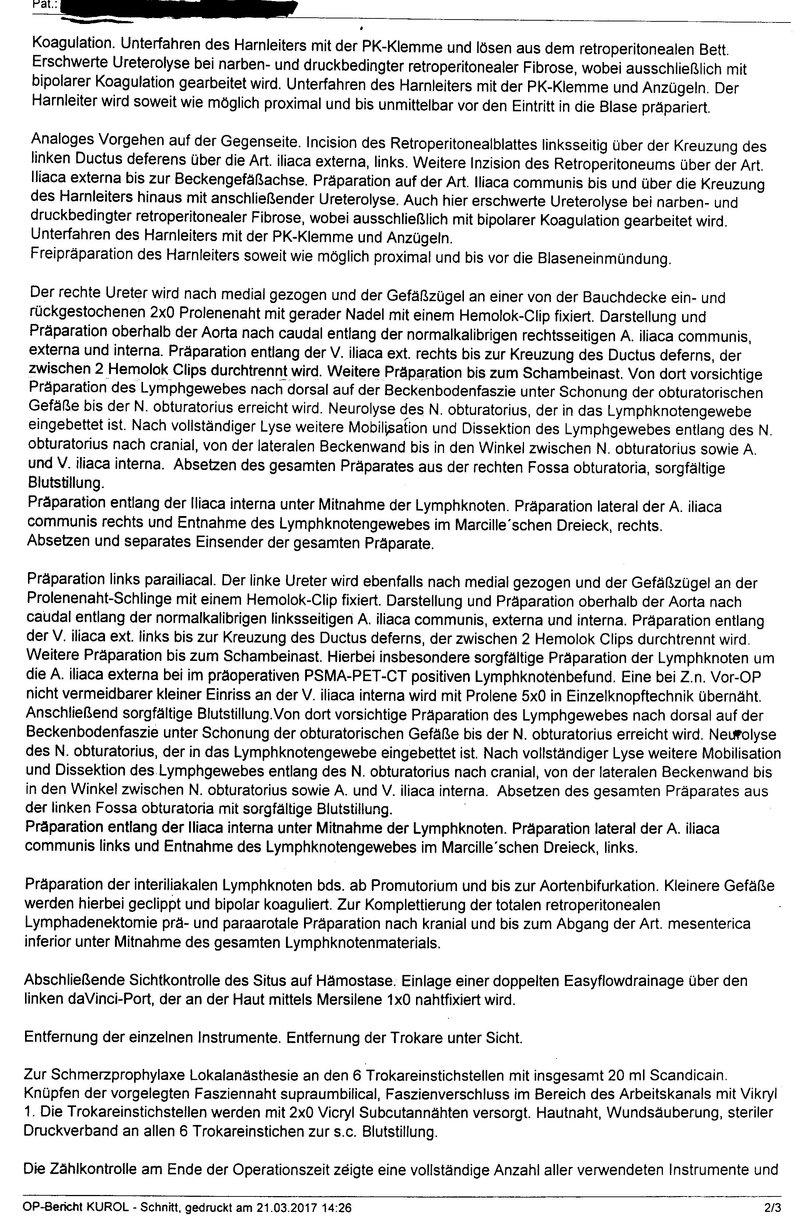 PK - was nun? [Archiv] - Seite 2 - Prostatakrebs-Diskussionsforum