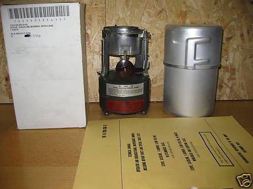 Some1 familiar with Stove, Gasoline, M1950 (?) - MREInfo com