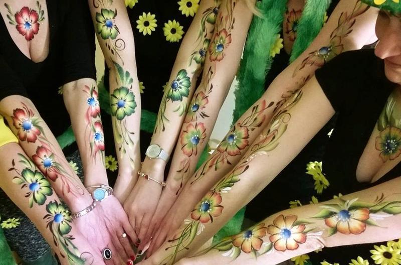 Flowers - one stroke 28753954qr